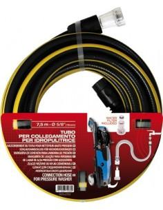 Kit hidrolimpiadora manguera 4515750 15mm-7,5mt de fitt