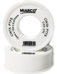 Teflon crudo 12mmx12mx0,075mm de miarco caja de 10 unidades