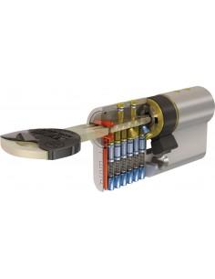 Cilindro tx-80 tx853030n 30x30 niquel 5 llaves de tesa