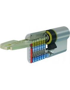 Cilindro t-60 m6503030n 30x30 niquel 5 llaves de tesa