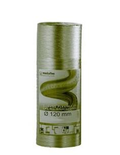 Tubo extensible aluminio 125mm de espiroflex caja de 60 unidades