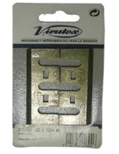 Juego 2 cuchillas ar b65/a92-j71 2031000 de virutex