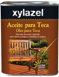 Xylazel aceite teca 630003 750ml incolor de xylazel caja de 6