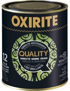 Oxirite quality liso 6117703 750ml verde de oxirite caja de 6