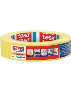 Cinta precision mask 04334-50mx19mm pint de tesa-tape caja de 8