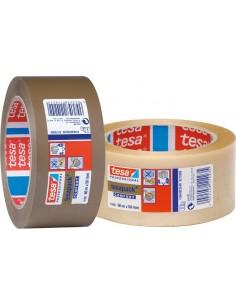 Cinta precinto 04100-066x50 marron de tesa-tape caja de 36