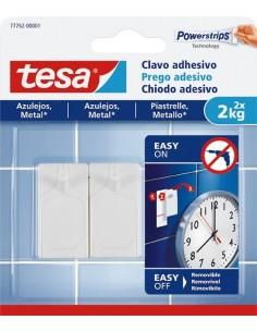 Clavo adhesivo 77762 sms azulejos sujección 2,0kg de tesa-tape
