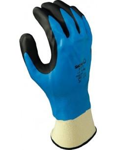 Guante nitrilo showa 377 t-07 azul de starter caja de 10