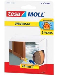 Burlete para umbral puerta 05422-1mx38mm marrón de tesa-tape