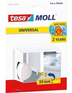 Burlete para umbral puerta 05422-1mx38mm blanco de tesa-tape