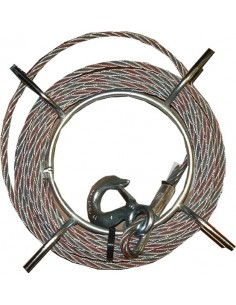 Cable 8,3mm b-20 t-7 1959 de tractel