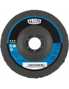 Disco limpieza 28vl gr-115x22,2 premium de tyrolit caja de 5