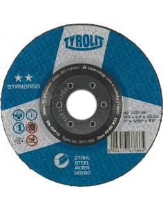 Disco 42x a30-bf 230x3x22,2 standard de tyrolit caja de 25