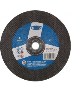 Disco 27c a30-bf 115x6x22,2 basic de tyrolit caja de 10 unidades