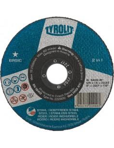 Disco 42c a30- bf 115x2,5x22,2 basic de tyrolit caja de 25