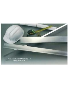 Regla aluminio 62020 60x20 2,0mt de cies caja de 3 unidades