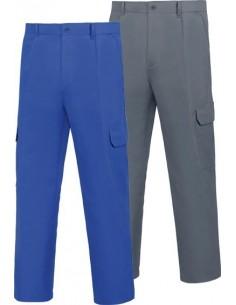 Pantalon tergal gris 500/pgm31gr t50 de vesin