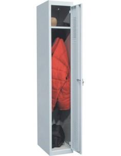 Armario metálico 30 inicial 1p 180x30x50 gris de ar