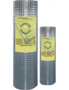 Malla electrosoldada galvanizada 06x06x0,50mm 1,00x25m de