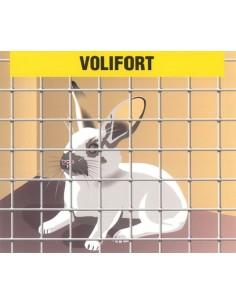 Malla electrosoldada galvanizada volifort 13x13x0,9 25x1,00m de