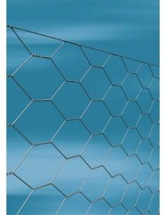 Enrejado triple torsión galvanizado 16x0,70mm 1,00x50m de