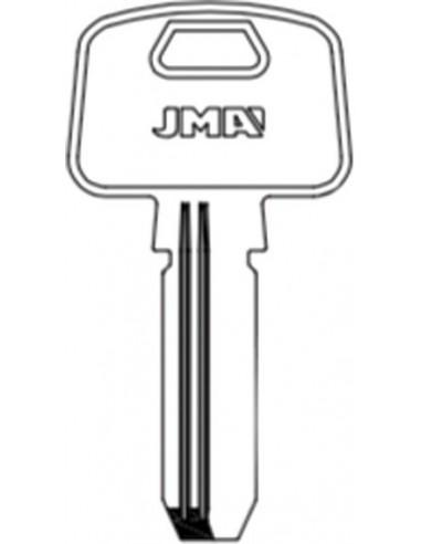 Llave jma latón seguridad mcm-16e8 de j.m.a caja de 10 unidades