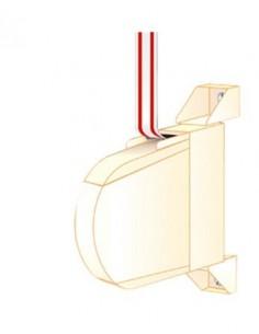 Recogedor persiana mini con cinta 4mt 14mm bl de ponsa