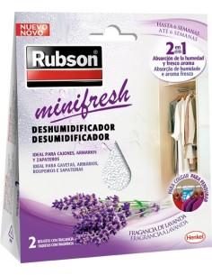 Absorbente humedad minifresh lavanda 2268966 de rubson