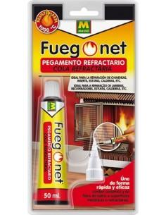 Pegamento refractario 231295 tubo 50ml de fuego net