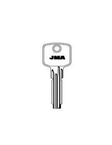 Llave jma latón seguridad ci-21 de j.m.a caja de 10 unidades