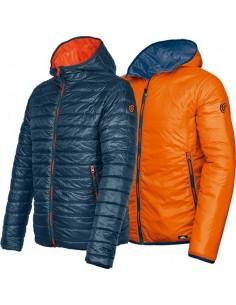 Cazadora reversible kenny azul/naranja 4721b t-xl de starter