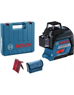 Nivel laser gll 3-80 profesional de bosch construccion /