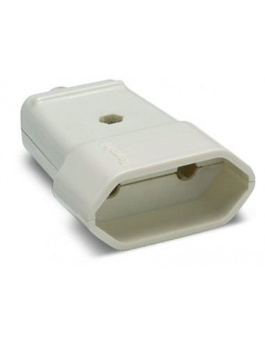 Base 2002 s/tt blanco 10a-250v de famatel caja de 60 unidades