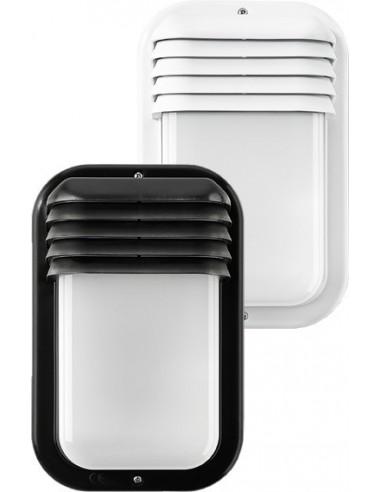 Aplique 4416g ecoled vertical e27 18w ip44 blanco de famatel