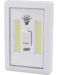 Luz armario led cob 1w 4xr03 con interruptor de marca caja de