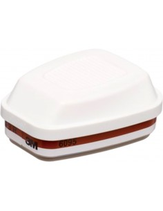 Filtro combinado 6095 a2p3r para mascara 6000/7500 de 3m caja