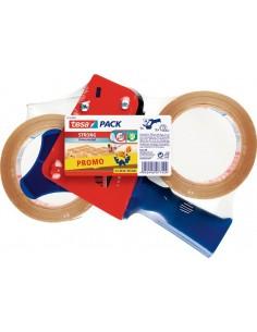 Precintadora 57195 + 2 rollos 066x50 transparente de tesa-tape
