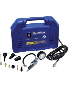 Compresor mini mb1 1,5hp 160l/m + kit 11pz de michelin