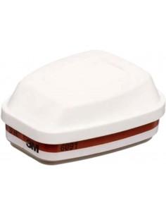 Filtro combinado 6091 a1p3r para mascara 6000/7500 de 3m caja