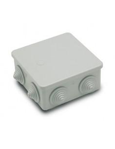 Caja 3003 estanca 100x100x45 7 conos ø20 de famatel caja de 6