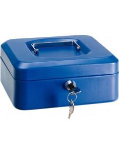 Caja caudal llave + bandeja 200x160x90 rojo de arregui