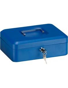 Caja caudal llave + bandeja 250x180x90 rojo de arregui