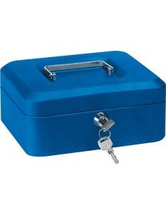 Caja caudal llave + bandeja 152x115x80 azul de arregui